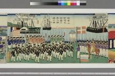 chi05_04229_0005_p0001・「横浜之新港五箇国之異人調練之図」