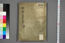 京師巡覧集. 巻之1-4 / 丈愚 [撰]
